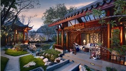 泰禾福州院子塑造完美空间成中式园林别墅典范