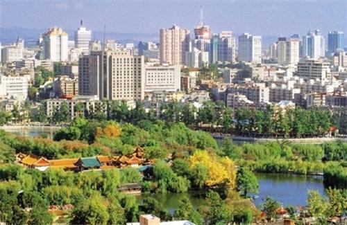 网评中国十大宜居城市图片