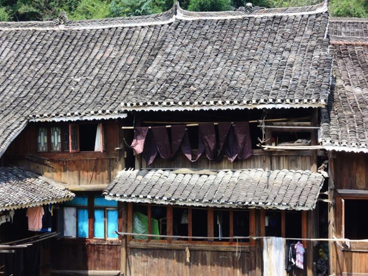 贵州的农村房:处山峦之中 风景美空气好