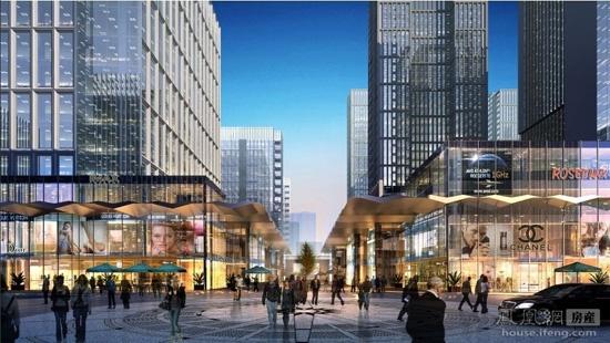 别墅环球金融城打造国际金融聚集区凤凰绿地北京怀柔哪些有房产图片