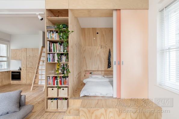适合超小户型的日系室内设计 无为而治的空间哲学