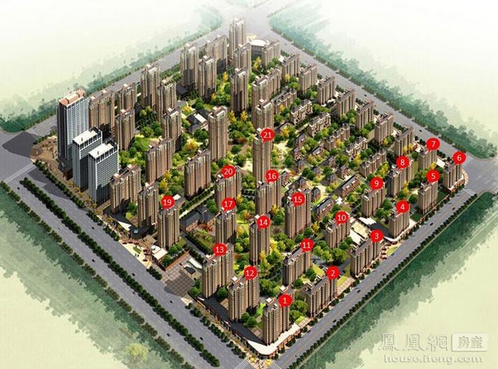 潮白新城楼盘环境 - 凤凰网房产北京