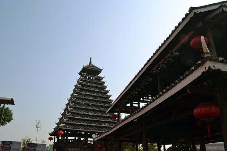 广西民族村里的那些民族特色建筑
