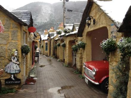 日本可爱的英式小村庄