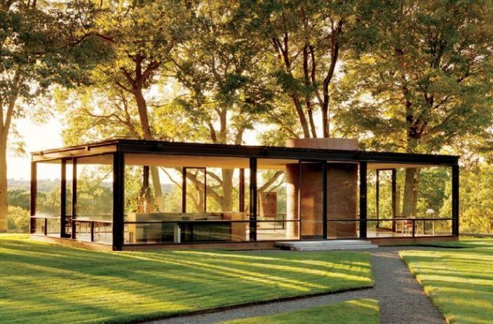 玻璃屋建筑与园林景观设计图片
