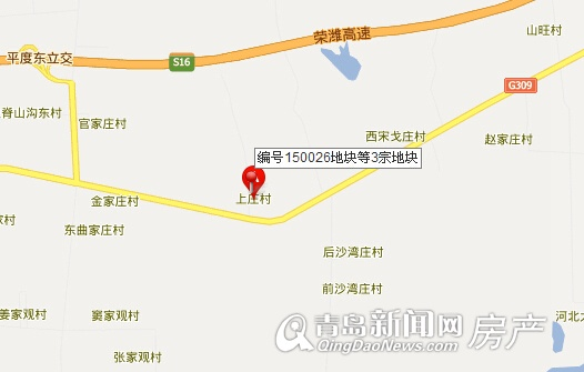 青岛至平度轻轨线路图