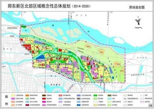 郑州市城城镇体系空间结构规划图