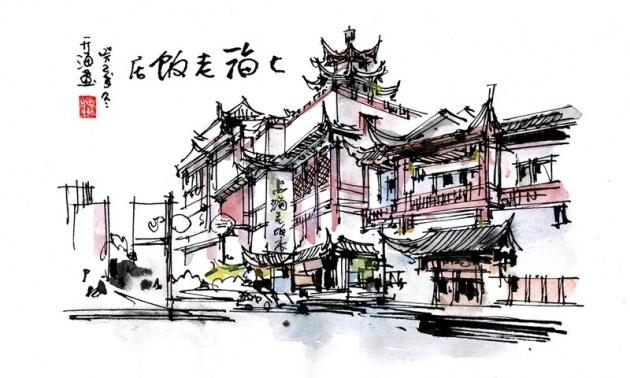 绘话最美的上海 那些用手绘记录的美