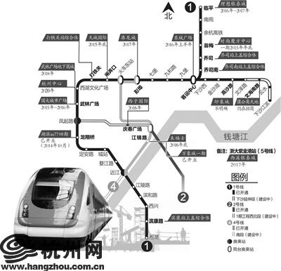 """宣布将在高沙地铁站出入口,建设专属于杭州经济技术开发区的""""印象城""""."""