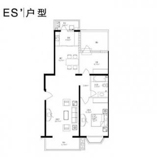 ES'户型