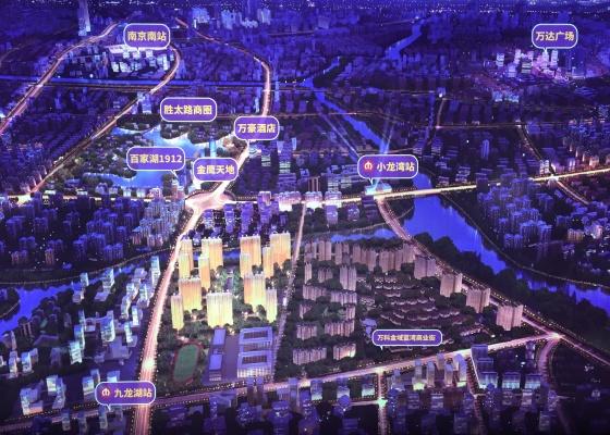 万科翡翠公园 规划图