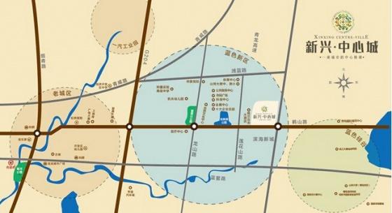 楼盘位置: 即墨市即墨市蓝色新区鹤山路与莲花山路交界处 查看地图