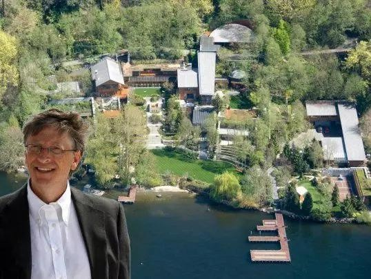 比尔盖茨占地6600平方米豪宅曝光 参观1次22万元 - 华楷实业 - 华楷实业的博客