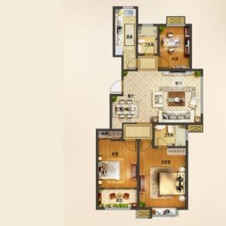 高层31-33#楼B3b户型[在售]