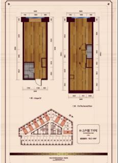 公寓标准层H2户型