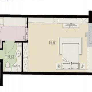 公寓楼标准层06户型