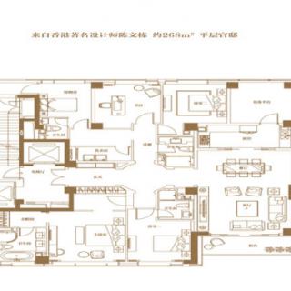 6A户型-5房2厅3卫