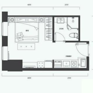 公寓标准层F户型