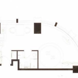 高层公寓标准层B户型