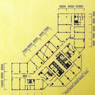 楼层平面图1