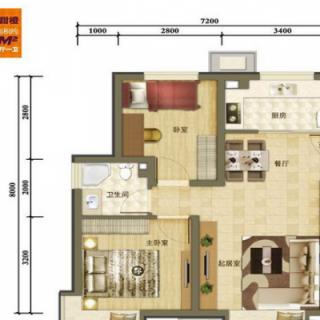二期洋房标准层H2户型