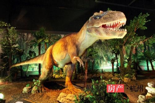 与史前动物亲密接触