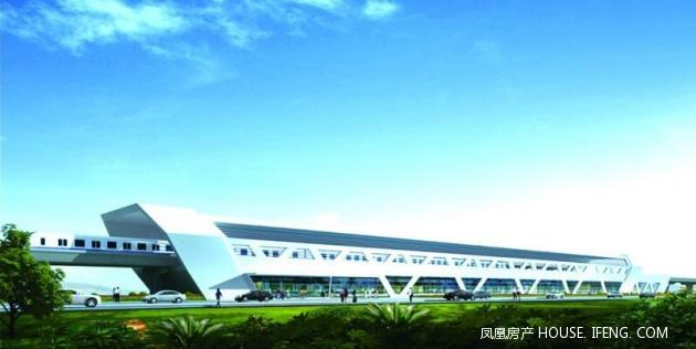 """青岛地铁11号线施工现场获悉,整条地铁线将做到沿途""""一站一风景""""的"""
