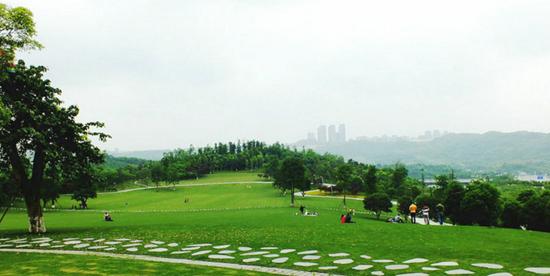 悦来湖公园及周边道路景观设计