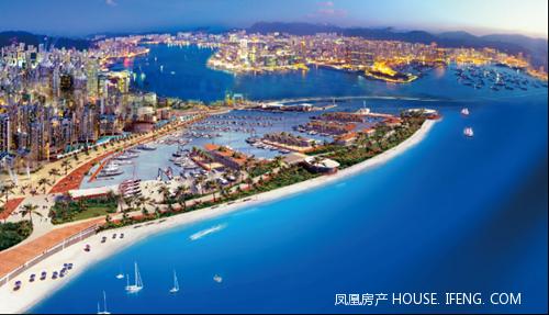 广物地产集团新埠岛项目四盘齐发,钜献海口