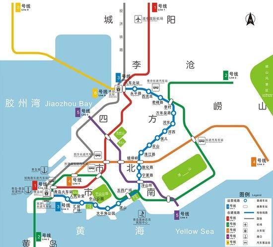 详解:青岛地铁大规划 看看2020年前哪些线路要开通