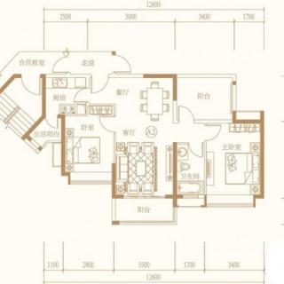 G高层-A2户型图