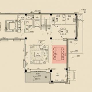Y1房型BF平面布局图