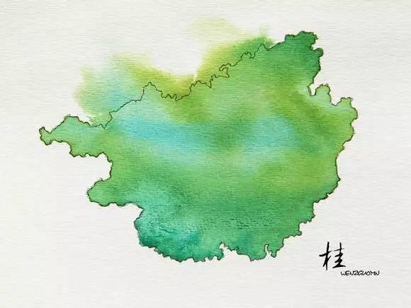 最有创意的中国地图,你绝对想不到家乡竟然这么美
