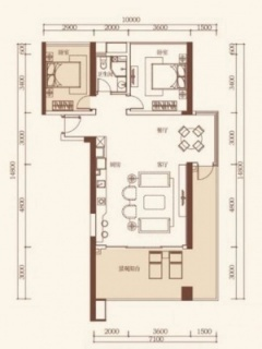 公寓户型4