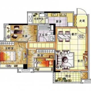 5、6号楼02户型【在售】1