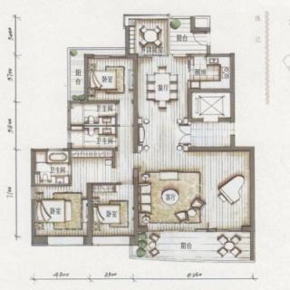 5栋02房户型图