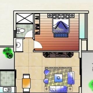 公寓舒适型户型48.90㎡
