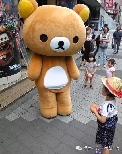 布朗熊可妮兔卡通壁纸棕色
