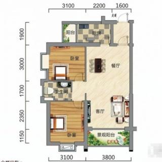 A3-B户型图