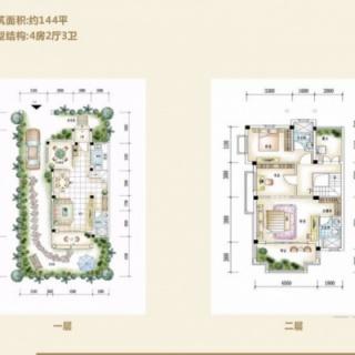 凤泉谷双拼别墅B022-5一层