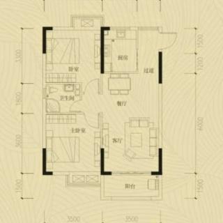 两室两厅一厨一卫20130618(5)