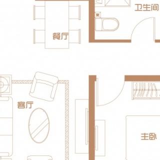 4号楼首层户型(二)