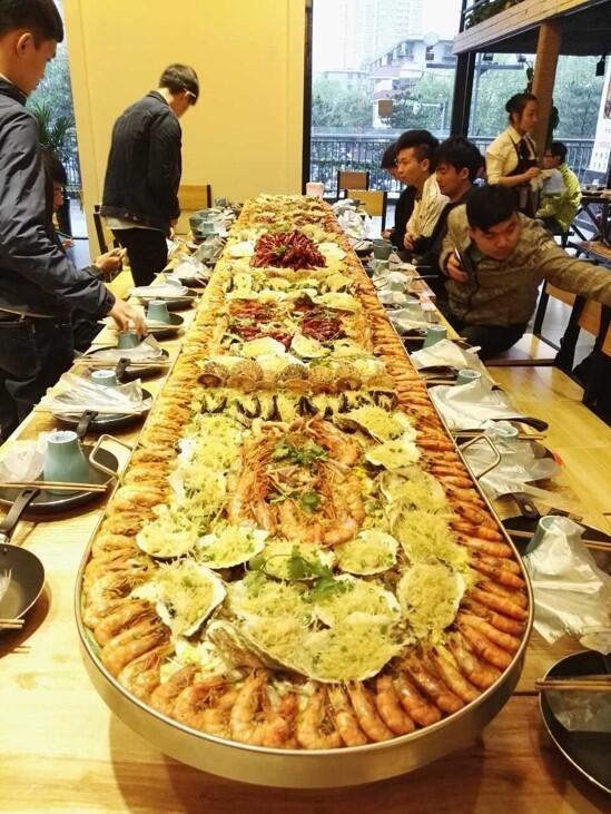 共贺生辰,海鲜盛宴