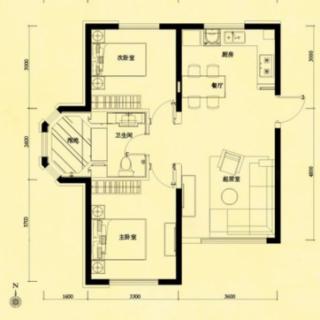 6-9号楼C户型
