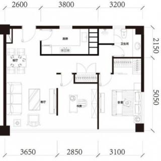 公寓标准层B户型
