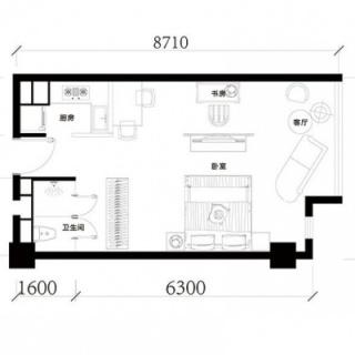公寓标准层H户型