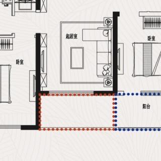 J4三室二厅一卫104平米