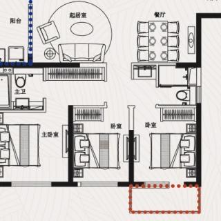 J5五室二厅三卫143平米