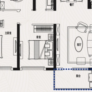 J3三室二厅二卫119平米