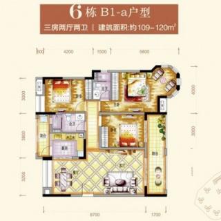 6栋B1-a户型图